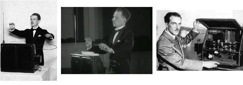 Лев Термен и его терменвоксы. 1930-е