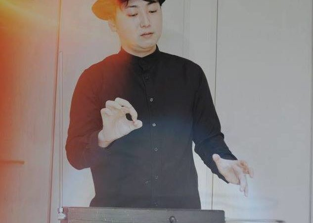 Theremin Player,Composer Takeshi Yoda
