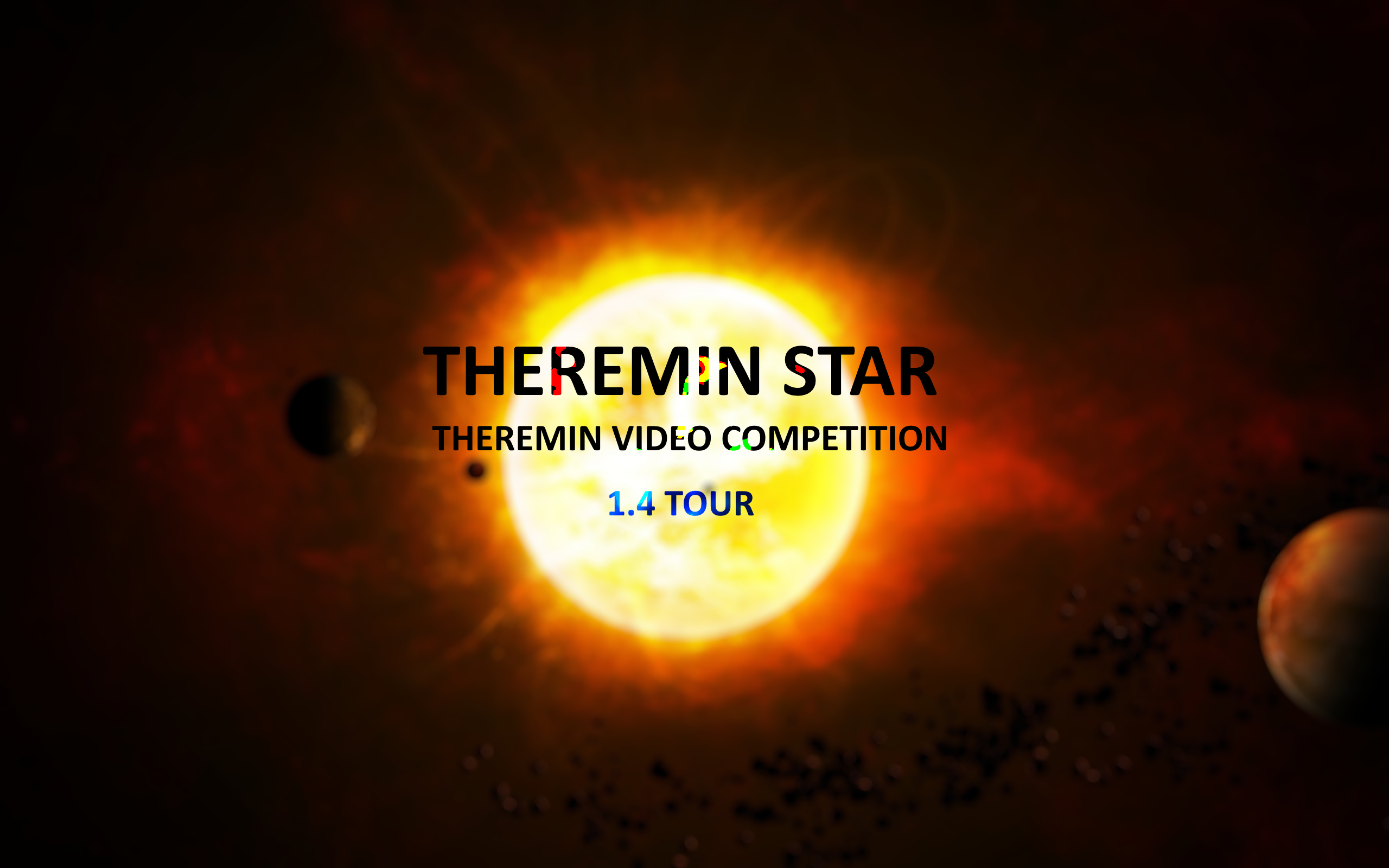 THEREMIN STAR СOMPETITION - 1.4 TOUR