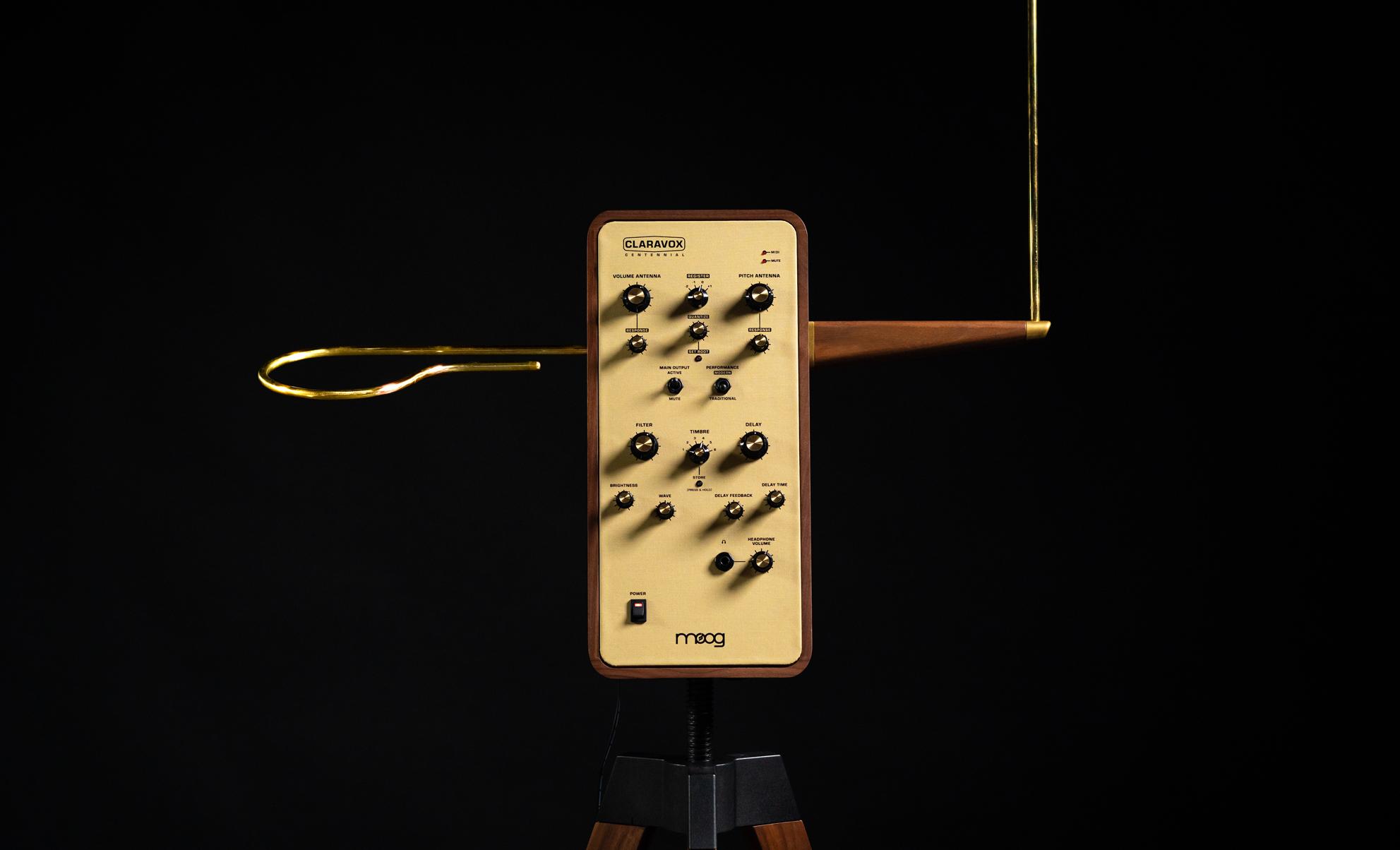 Claravox - новый терменвокс от Moog