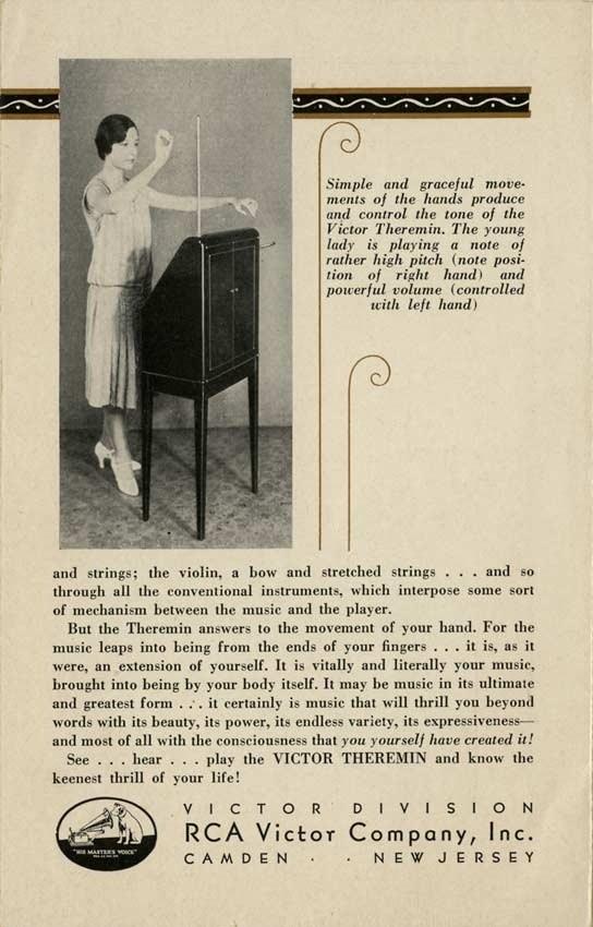 терменвокс rca 1929